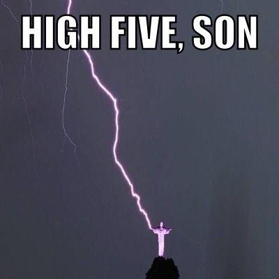 High Five Son