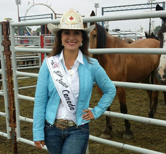 Nicole Briggs, Miss Rodeo Canada