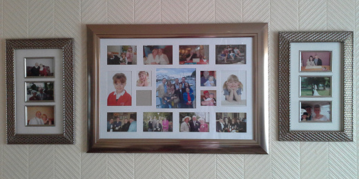 Photos on my wall.