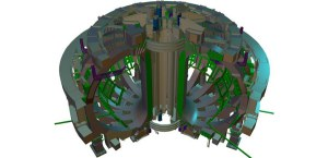 The 48 elements of the ITER magnet system will generate a magnetic field some 200,000 times higher than that of our Earth. Courtesy: ITER.ORG