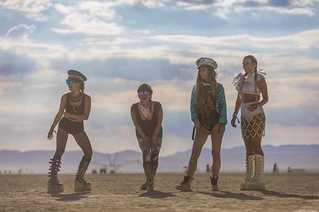 Dusty days in dreamland 💕 Read about my first @burningman experience on my blog. Link in bio.
